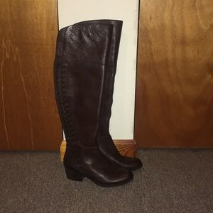 ❤️NWT Vince Camuto Over Knee Genuine Leather Boots